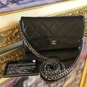 Chanel Long Flap Large Wallet